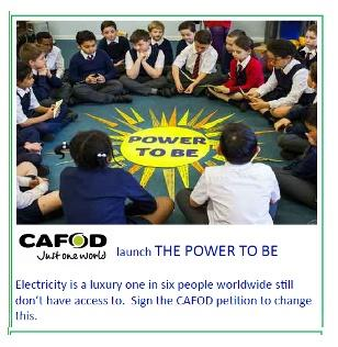The Power to Be - CAFOD